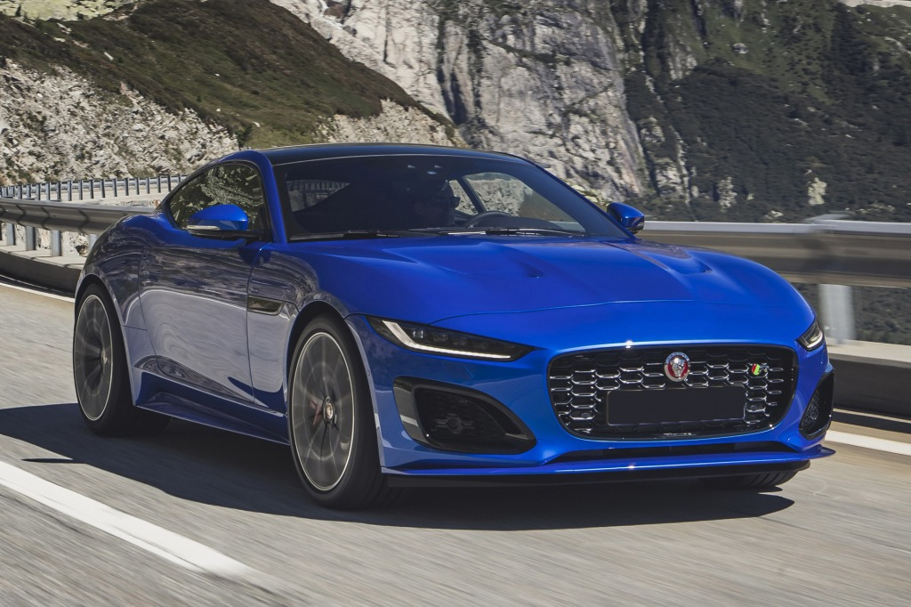 2021 jaguar ftype spy shots   new cars zone