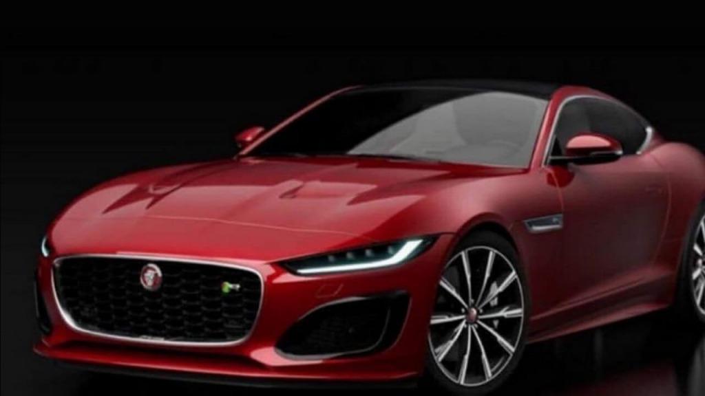 2021 Jaguar FType Spy Shots