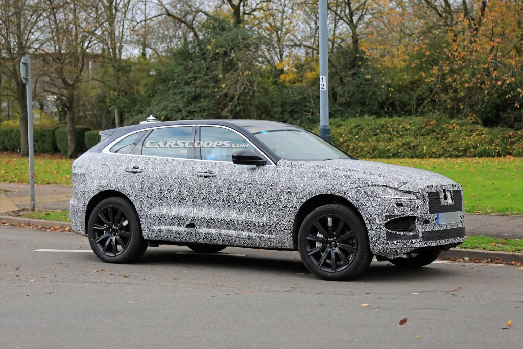 2021 Jaguar Suv Drivetrain