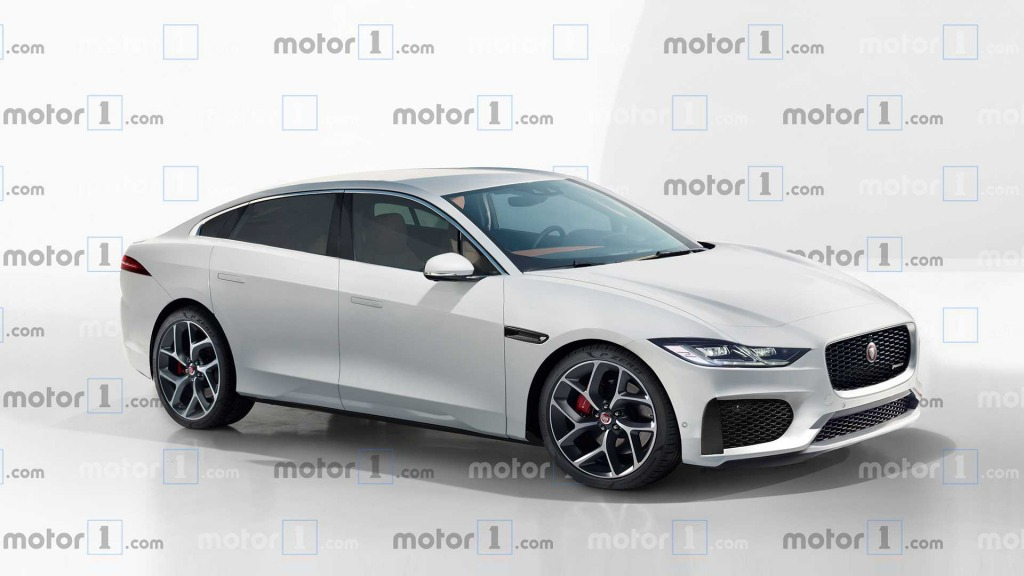 2021 Jaguar XJ Spy Shots