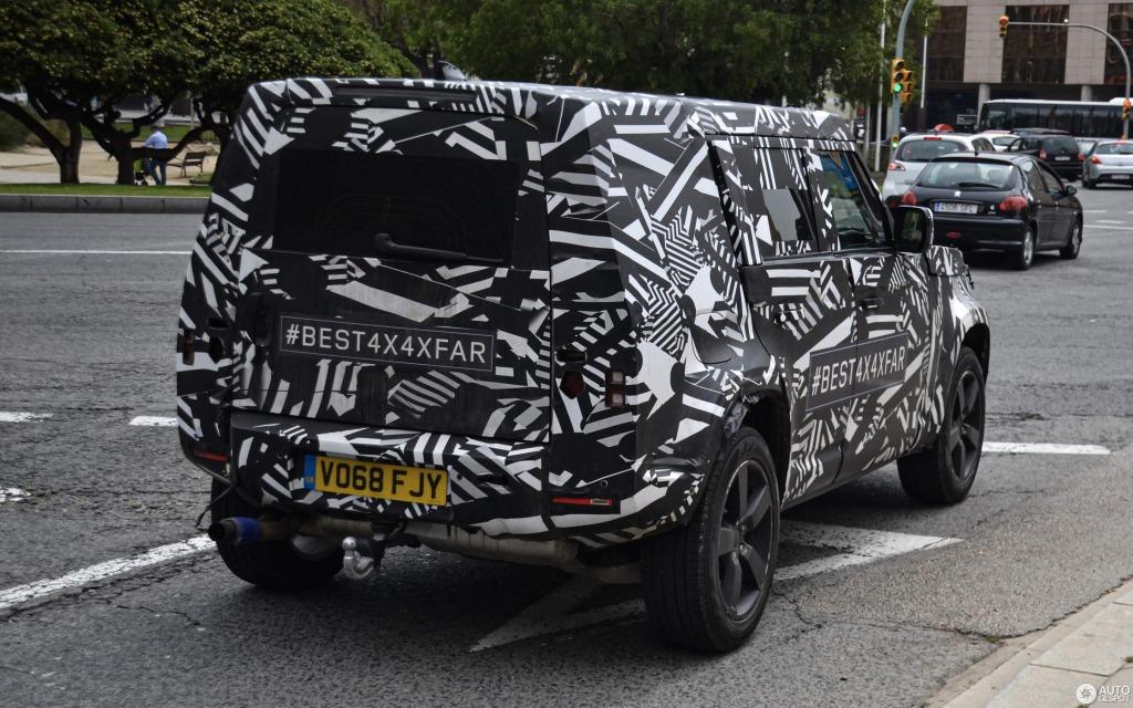 2021 Land Rover Defender Drivetrain