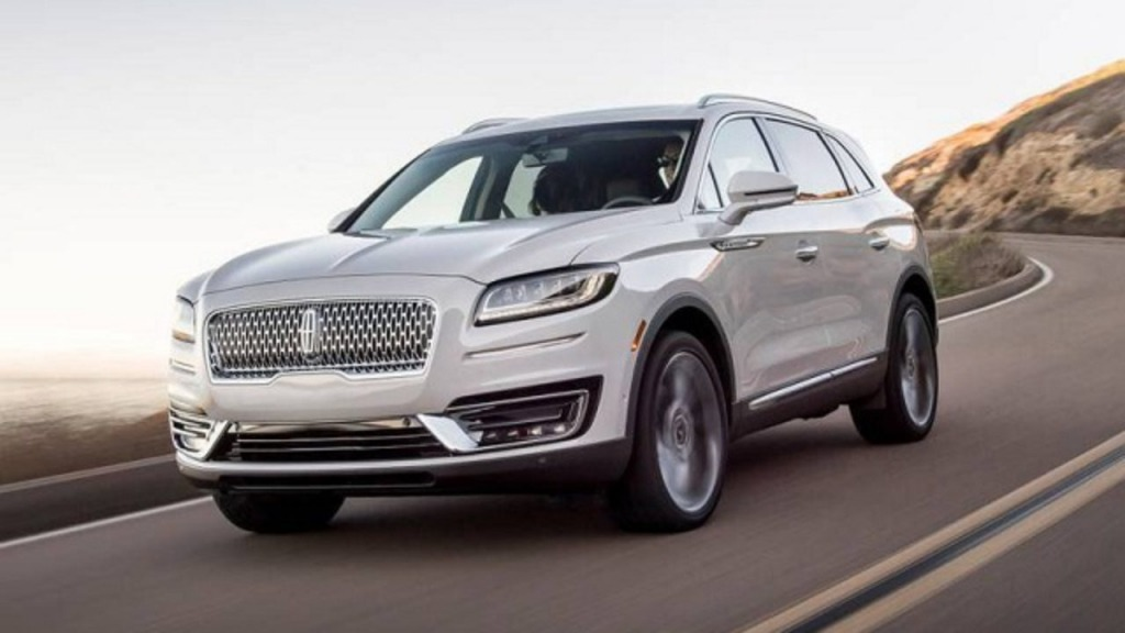 2021 Lincoln MKX Spy Shots