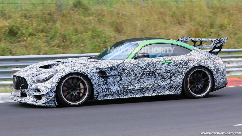 2021 Mercedes AMG GT Engine