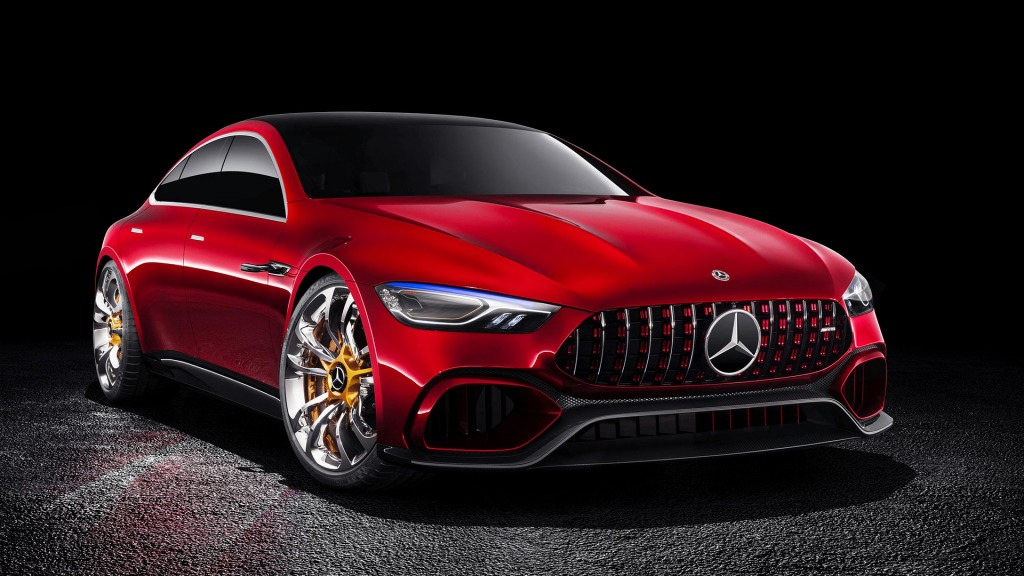 2021 Mercedes AMG GT Wallpapers
