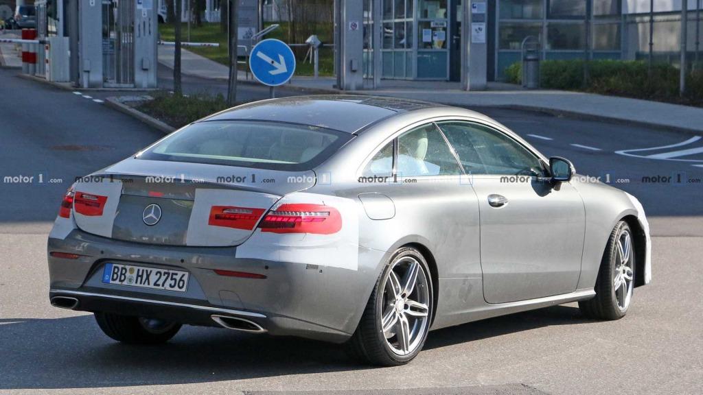 2021 MercedesBenz EClass Spy Shots
