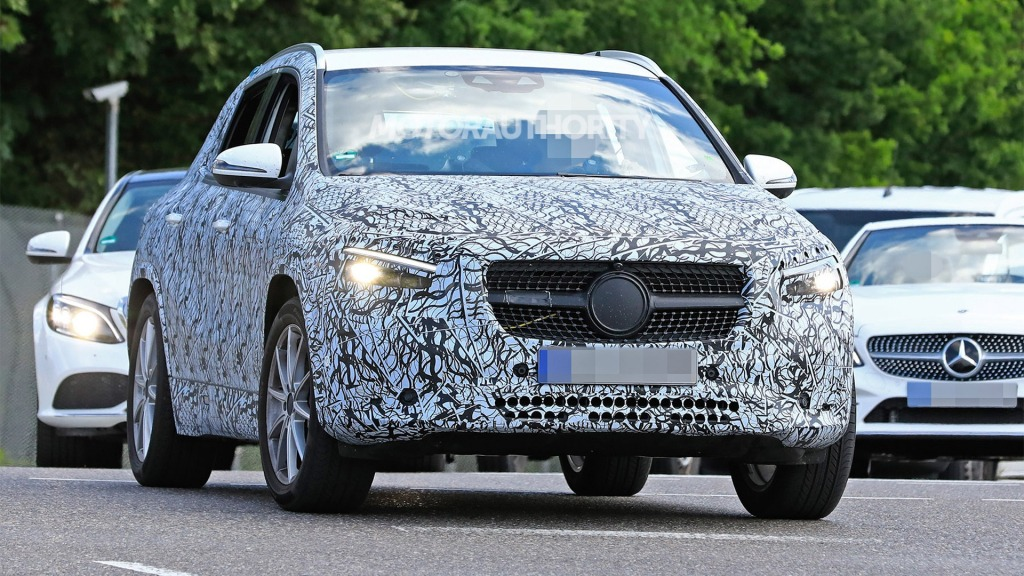 2021 MercedesBenz MClass Spy Shots