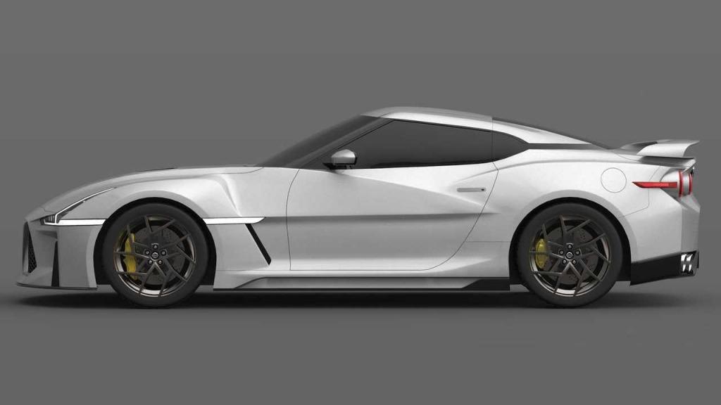2021 Nissan GTR Drivetrain
