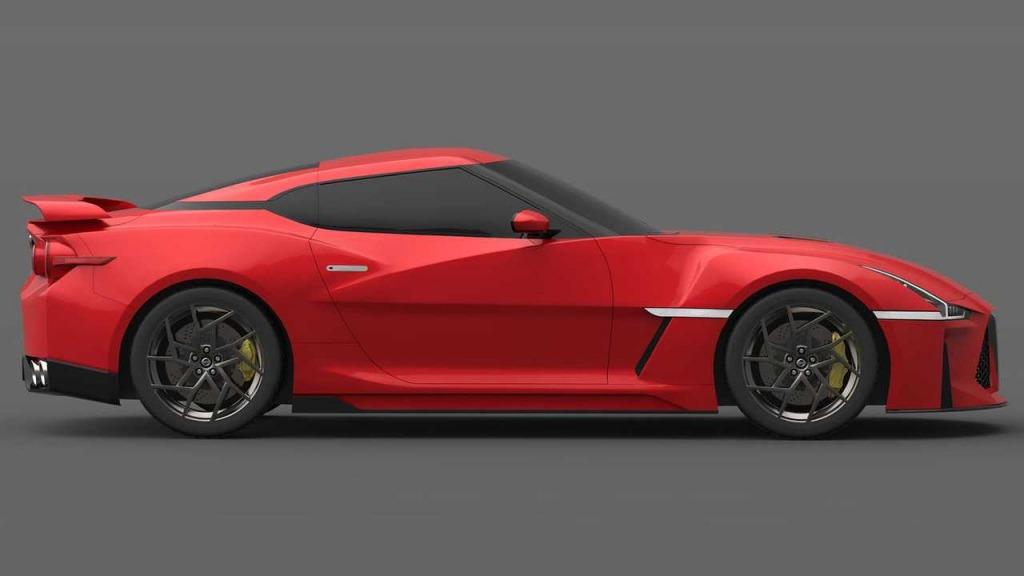 2021 Nissan GTR Powertrain