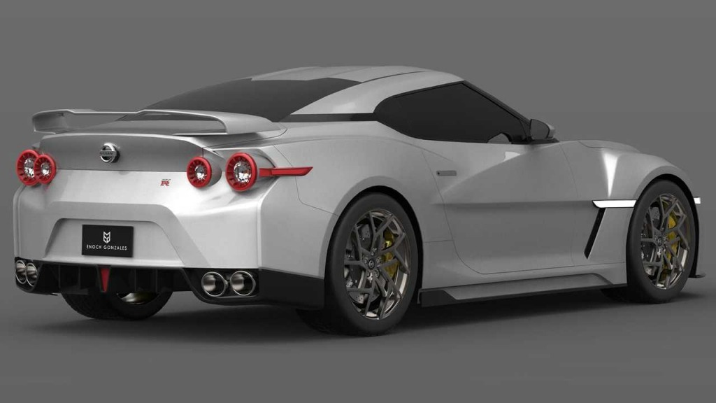 2021 Nissan GTR Spy Photos