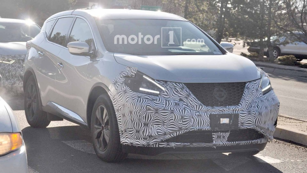 2021 Nissan Murano Spy Shots