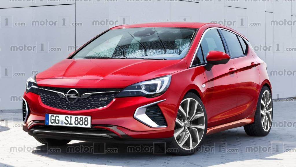 2021 Opel Astra Exterior