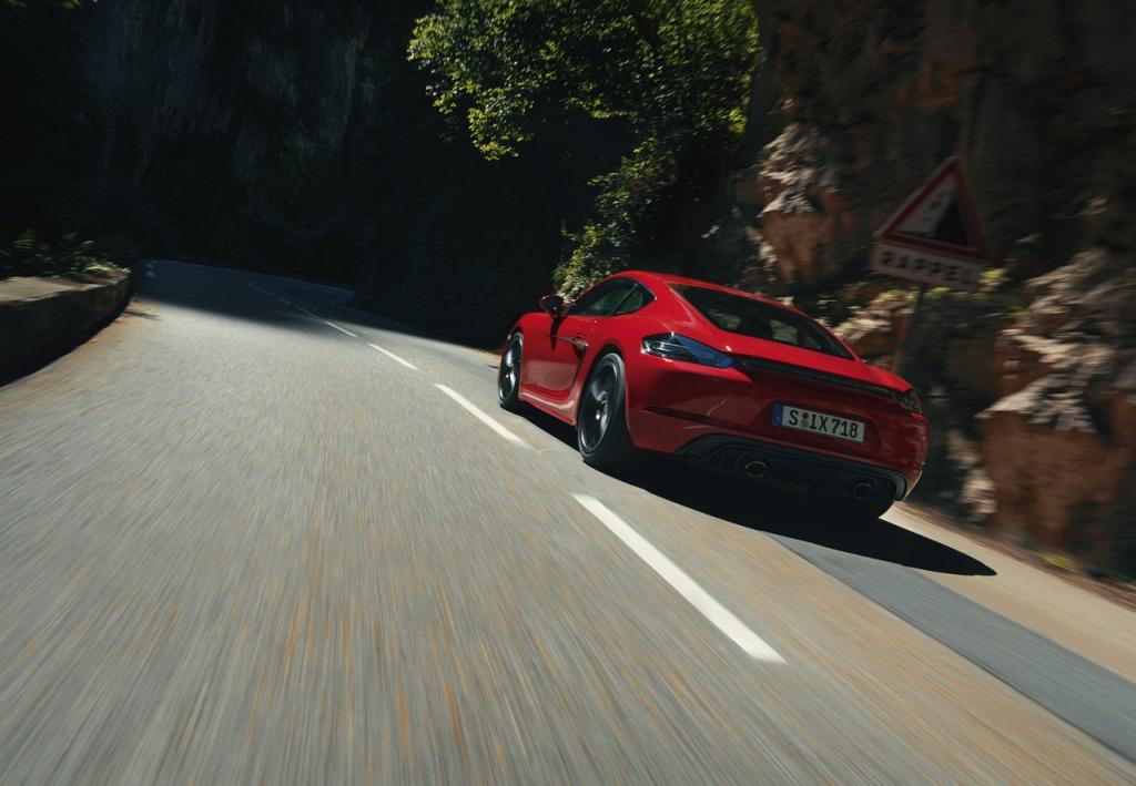 2021 Porsche Boxster S Spy Photos