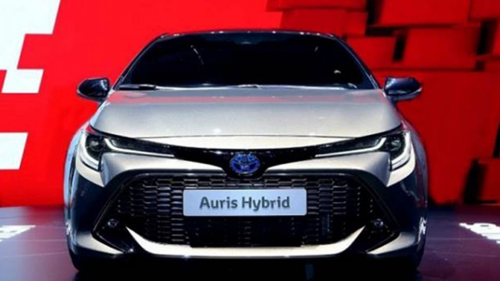 2021 Toyota Auris Redesign