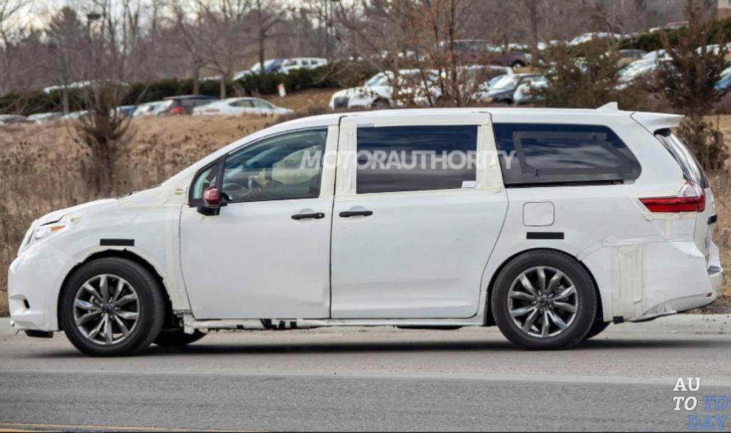 2021 Toyota Sienna Powertrain