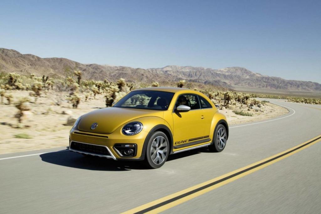 2021 Volkswagen Beetle Dune Engine