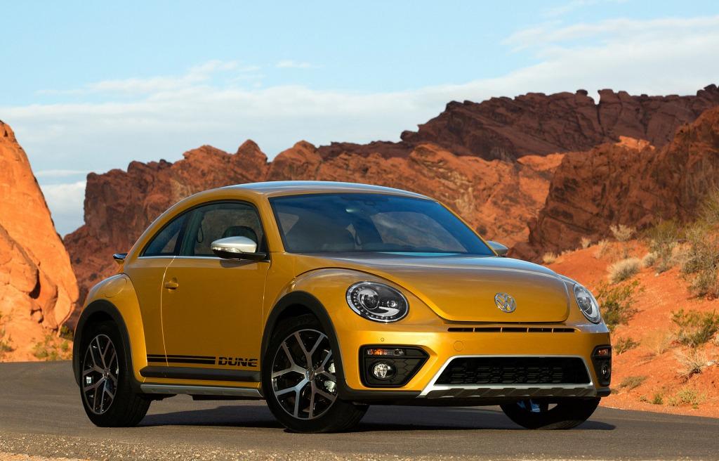 2021 Volkswagen Beetle Dune Spy Shots