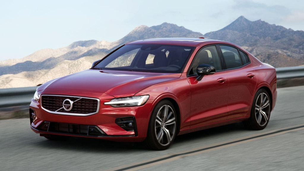 2021 Volvo S60 R Spy Shots