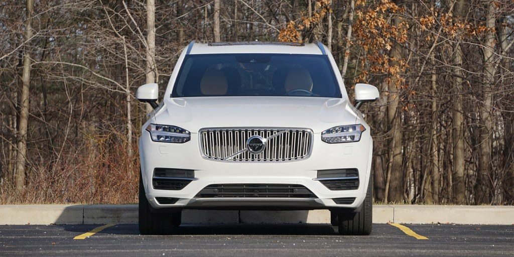 2021 Volvo XC90 Spy Photos