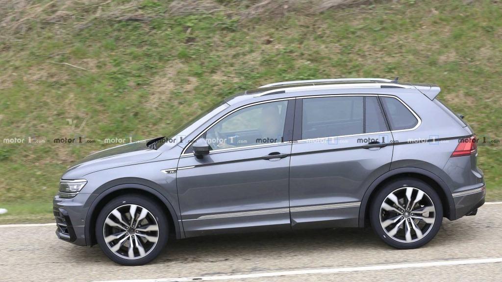 2021 VW Tiguan Drivetrain