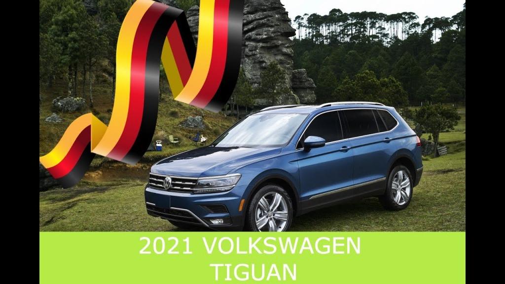 2021 VW Tiguan Spy Photos