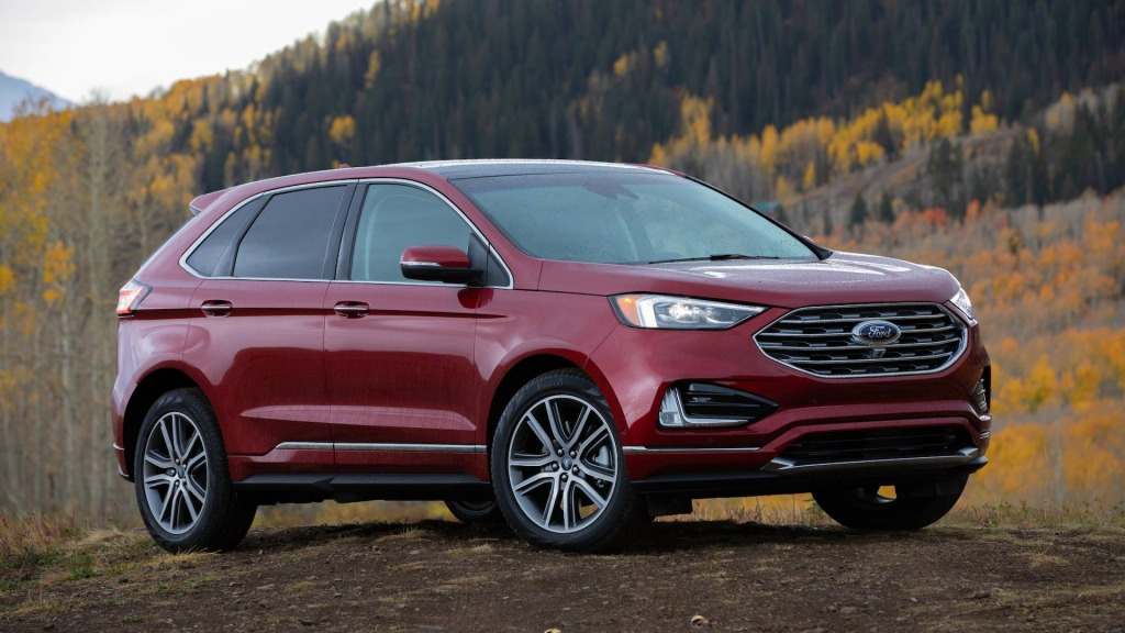 Ford Edge New Design Images