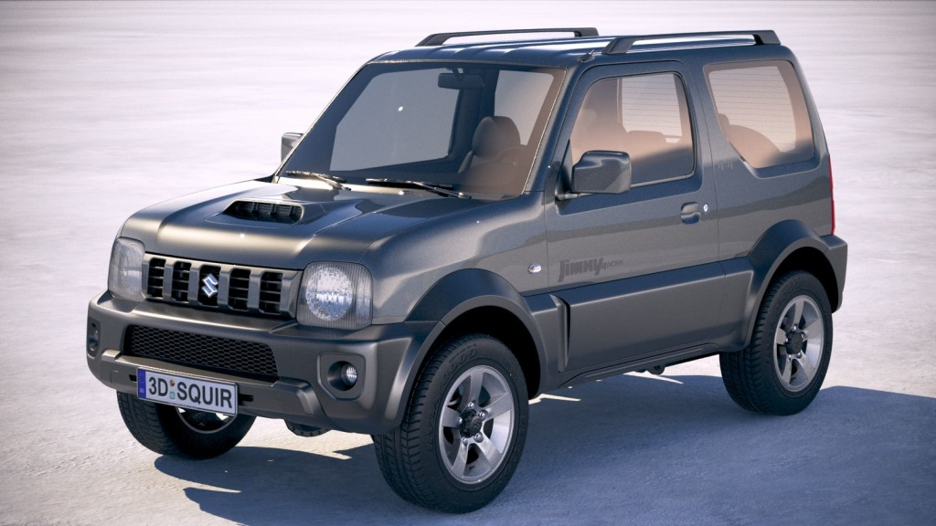 Suzuki Jimny Model Pictures