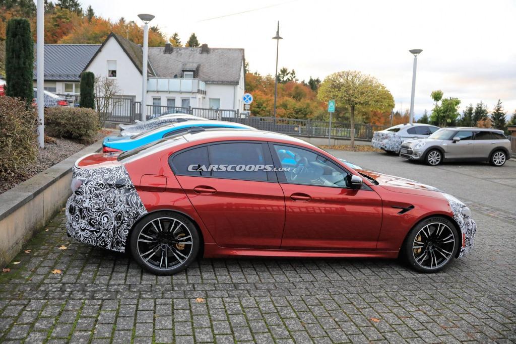2021 BMW M5 Drivetrain