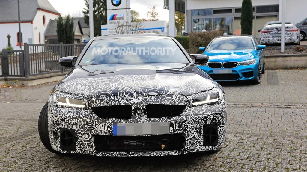 2021 BMW M5 Spy Photos