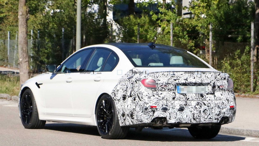 2021 BMW M5 Spy Shots