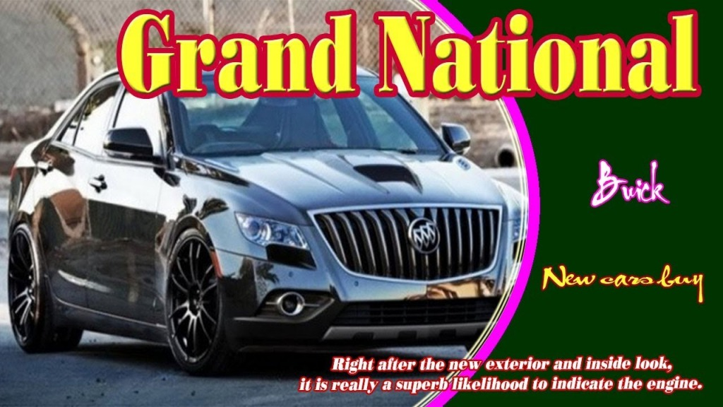2021 Buick Grand Nationals Redesign