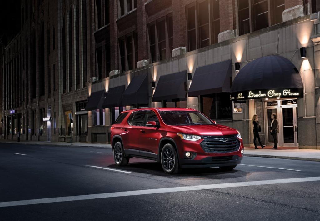 2021 Chevrolet Traverses Drivetrain