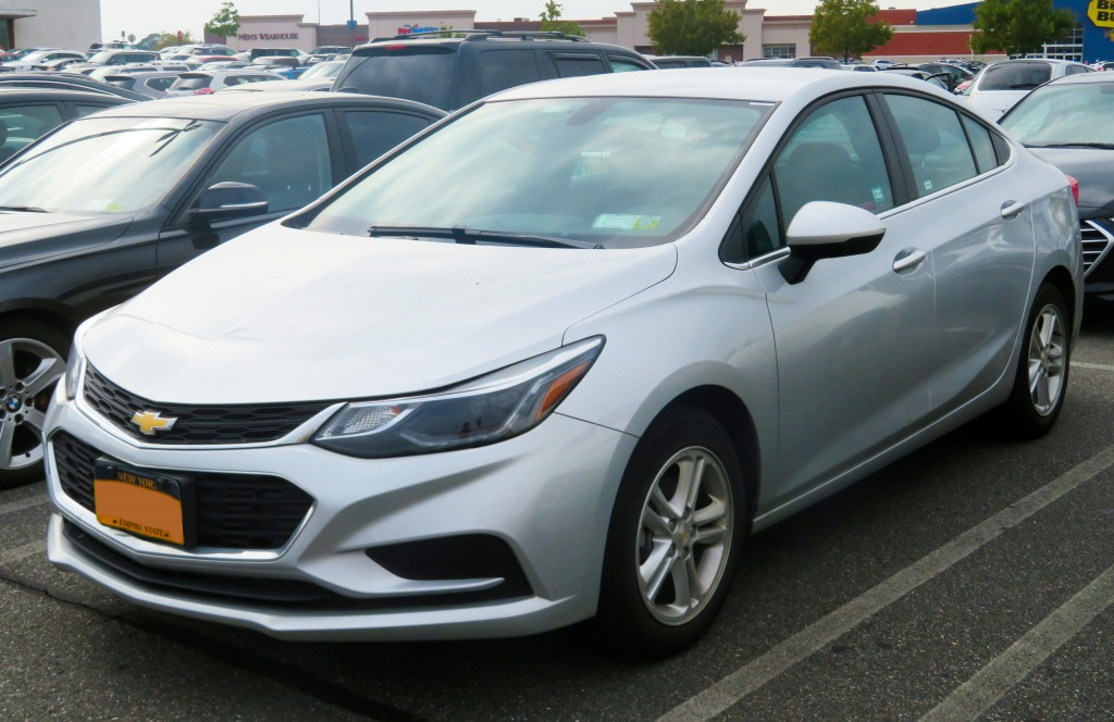 2021 Chevy Cruze Price