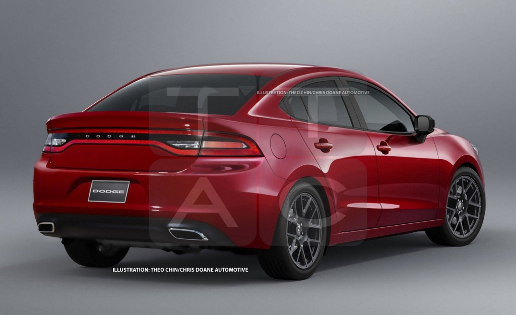2021 Dodge Dart SRT Spy Shots