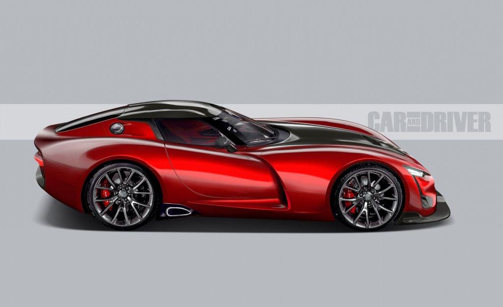 2021 Dodge Viper Roadster Wallpaper