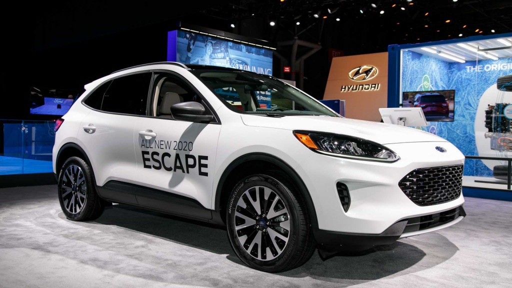 2021 Ford Escape Spy Photos