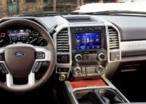 2021 Ford F350 Diesel Spy Photos