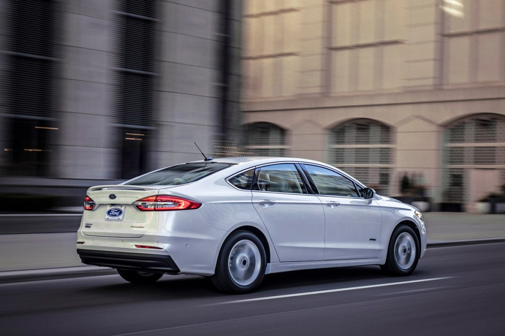 2021 Ford Fusion Powertrain