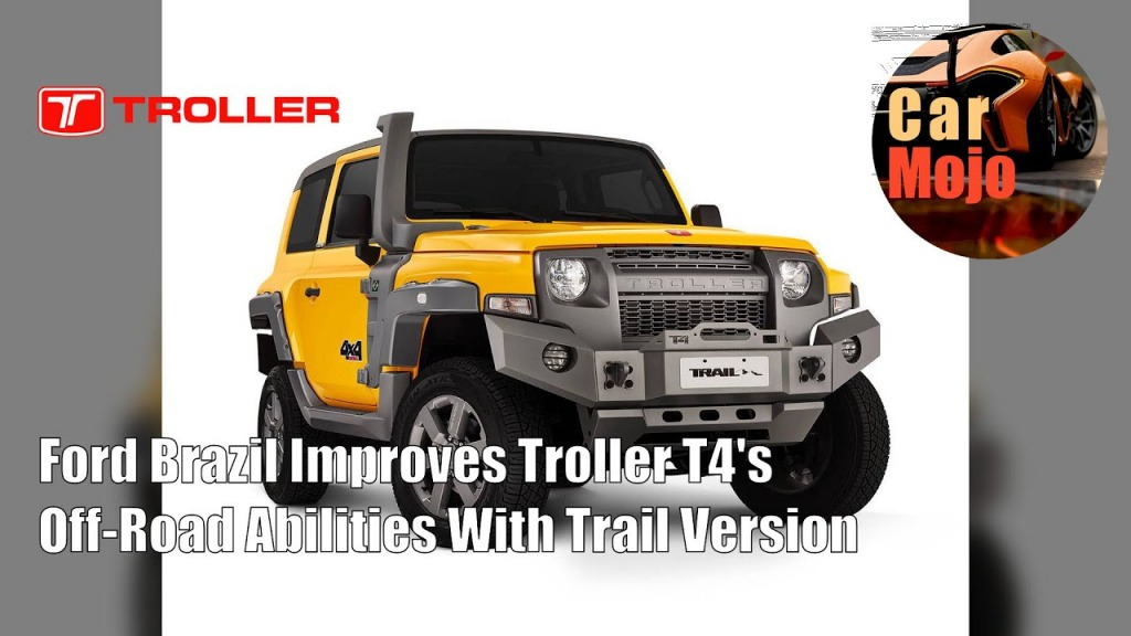 2021 Ford Troller T4 Pictures