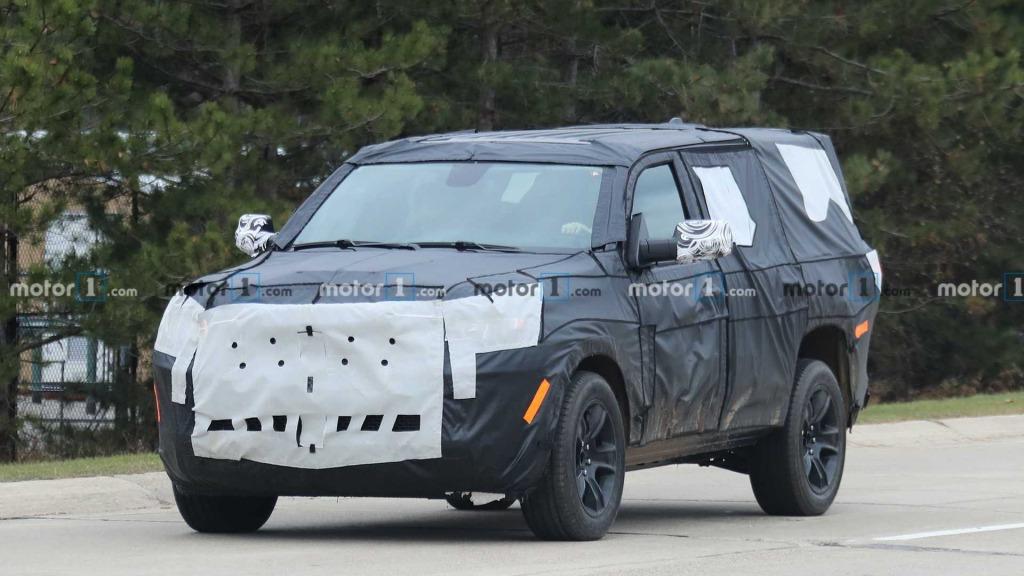 2021 Jeep Liberty Spy Shots