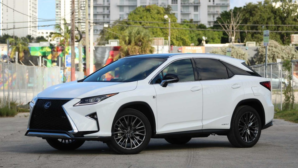 2021 Lexus RX 350 Spy Photos