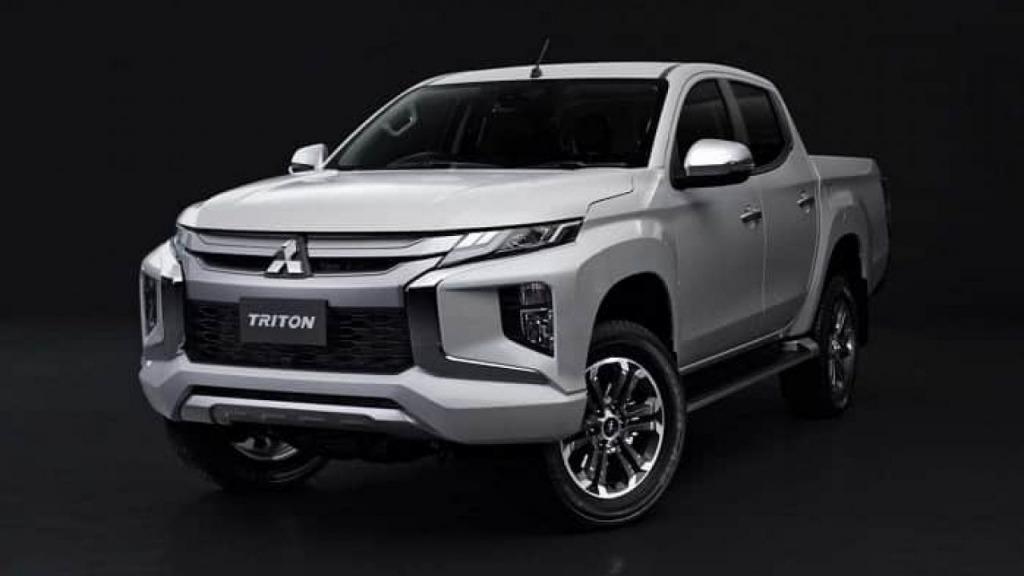 2021 Mitsubishi Triton Spy Shots