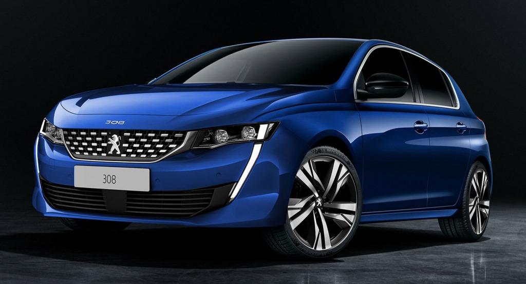 2021 Peugeot 308 Images