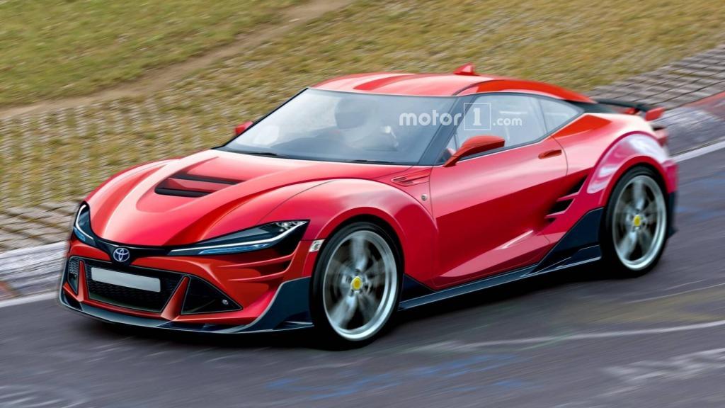2021 Toyota Supra Spy Shots